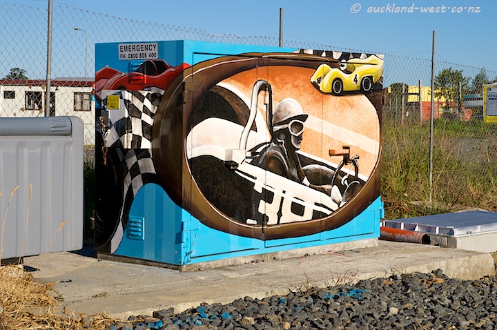 Painted Boxes: Motor Racing
