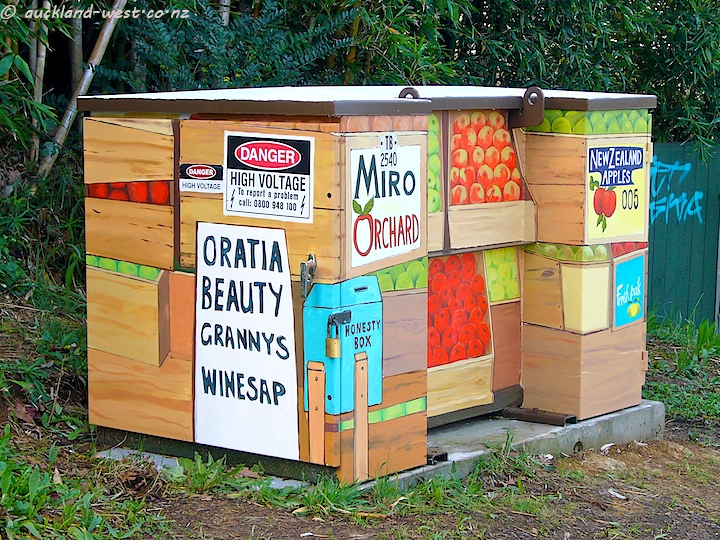 Painted Boxes: Miro Orchard