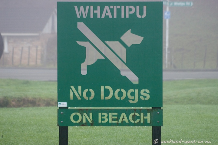 Location Signs: Whatipu