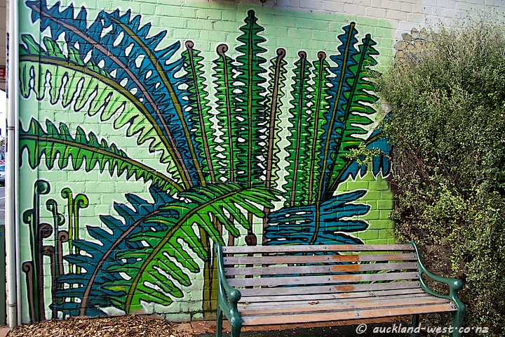 Glen Eden Mural: Ladder Fern