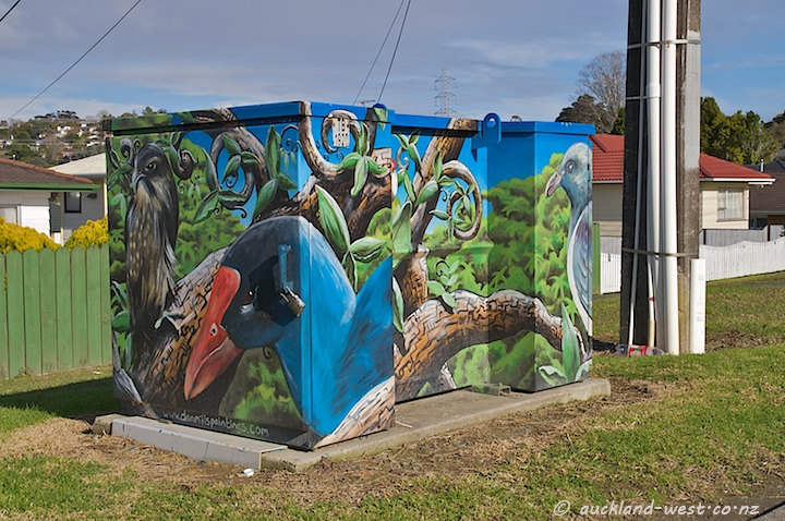 Painted Boxes: NZ Birds (Dan Mills)
