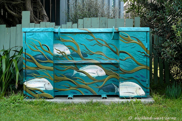 Painted Boxes: Kelp and Snapper