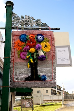 Knitted Graffiti