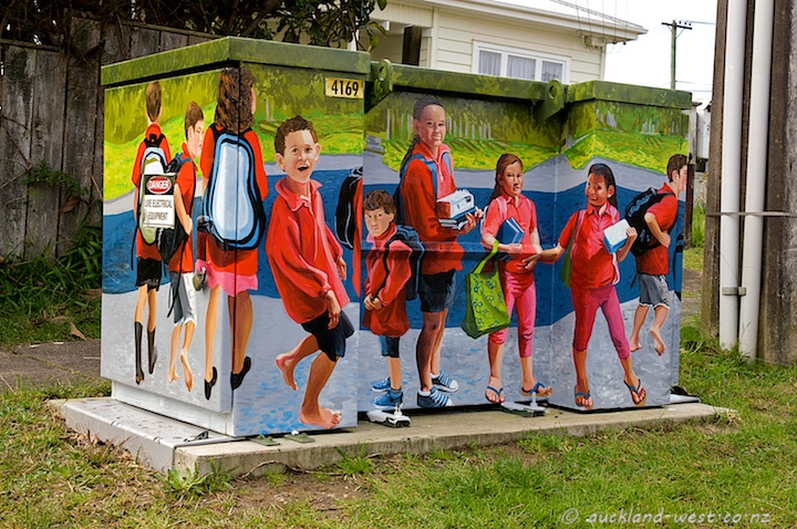 Painted Boxes: Fruitvale School Children