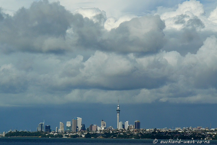 Auckland City from Te Atatu Peninsula