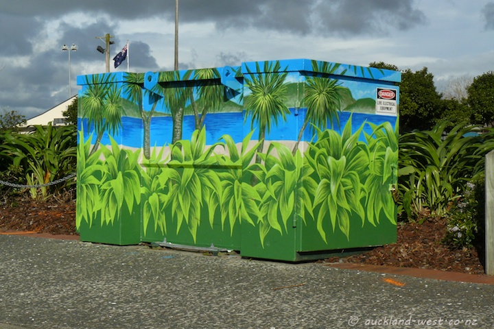 Painted Boxes: Tropical Green