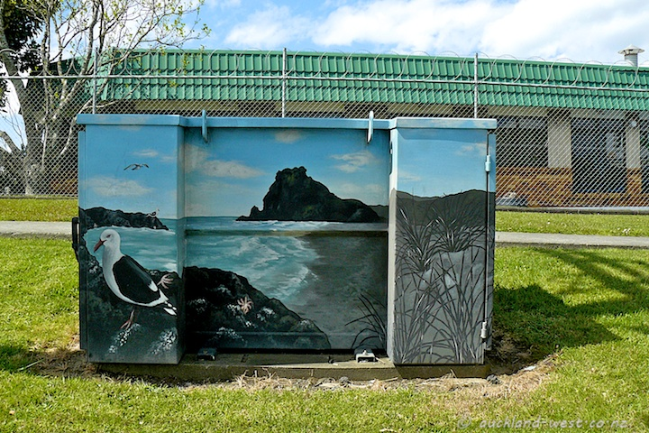 Painted Boxes: Lion Rock (Mandy Patmore 2007)