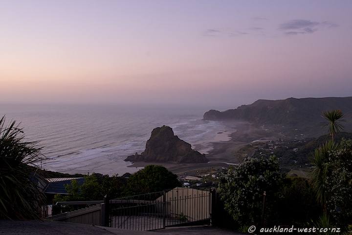 Piha after Sunset