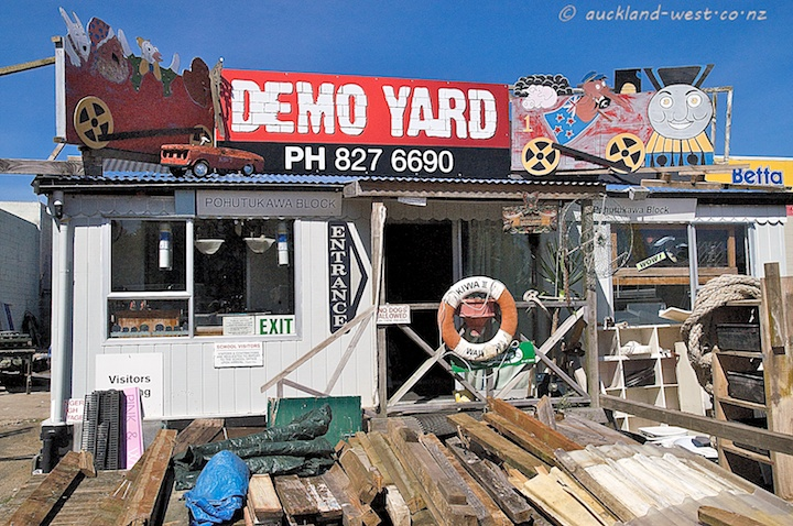 Demo Yard, Cunard Street, New Lynn