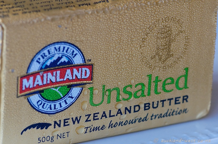 Unsalted New Zealand Butter