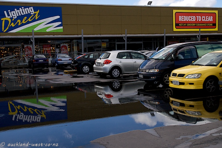 Puddles, Waitakere Mega Centre