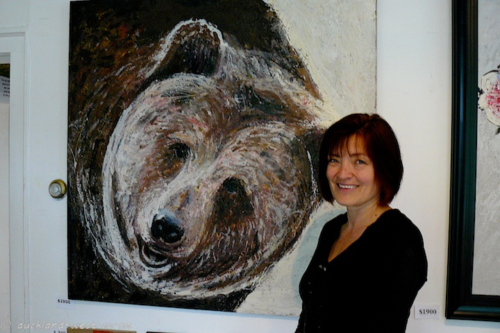 Danuta Rogula: Cheek to Cheek with her Bear