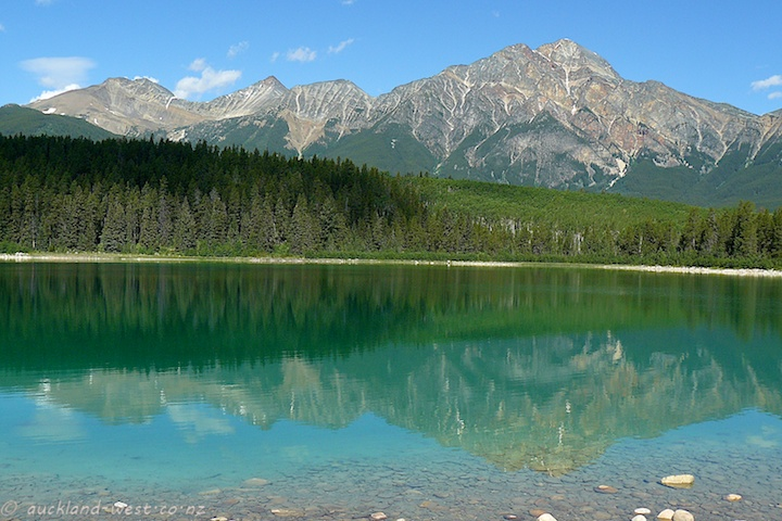 Pyramid Mountain and Patricia Lake