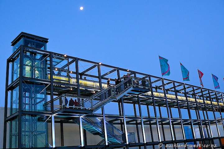 The Gantry in the Evening