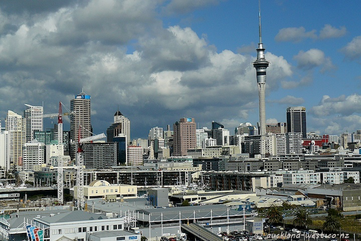 The View from the Silo at the Wynyard Quarter