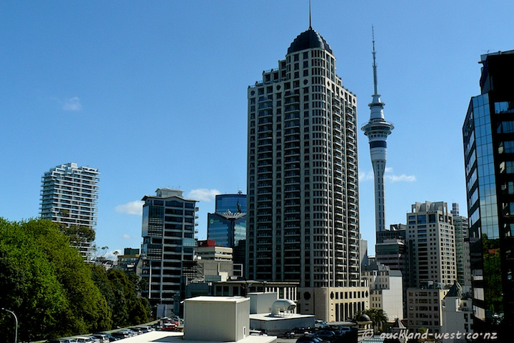 Metropolis competes with the Sky Tower