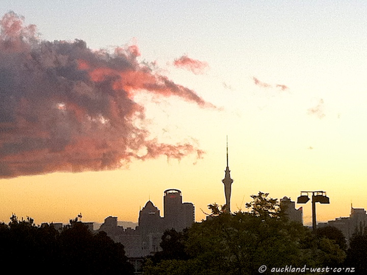 Auckland Skyline Seen from Devonport