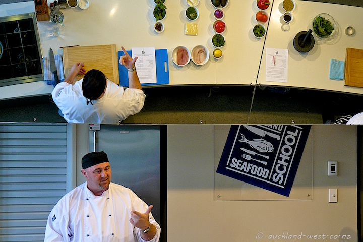 Chef Steve Roberts Makes a Point (or Two)