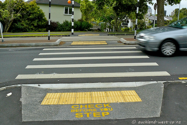 Pedestrian Crossing, Freemans Bay