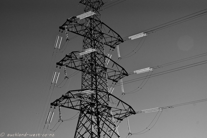 Power Pylon, Red Hills Road, Massey