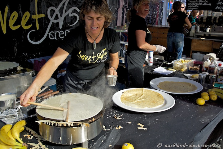 Sweet As Crepes at the Coatesville Market