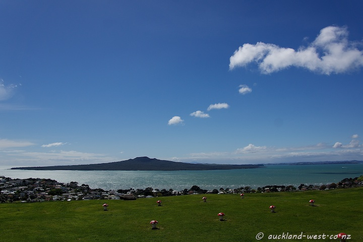 Rangitoto from Mount Victoria