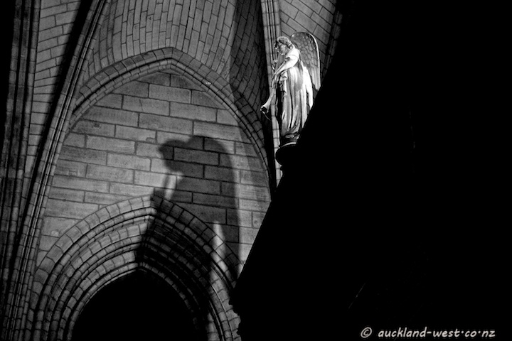 Angel at Notre Dame de Paris
