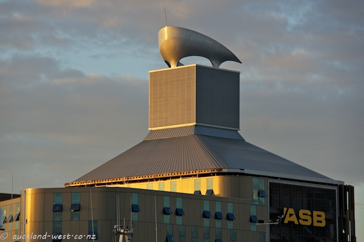 Rooftop Sculpture --- ASB Headquarters | Auckland - West