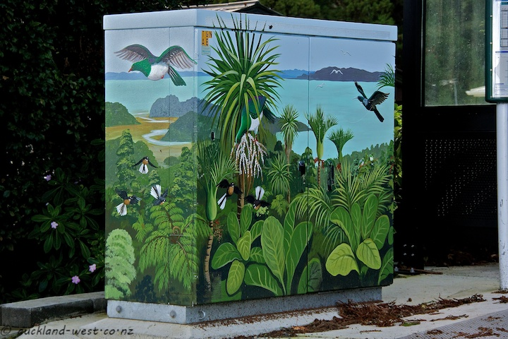 Birds, Bush, Manukau Harbour (Monique Endt)