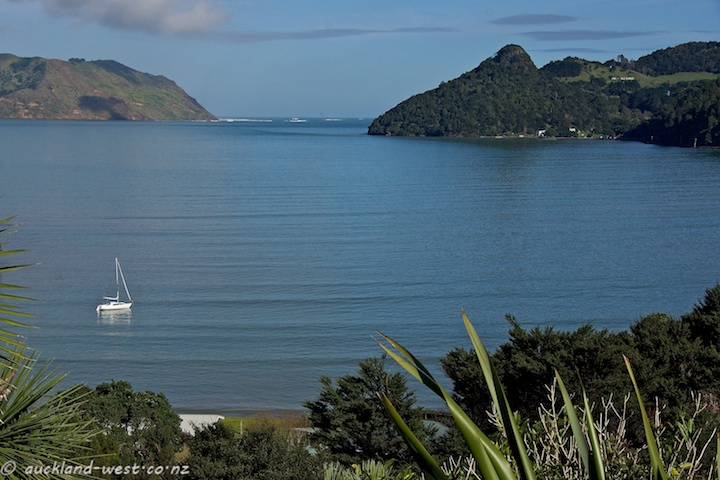 Foster Bay and Entrance to Manukau Harbour