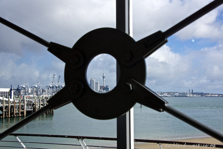 View from Devonport Wharf