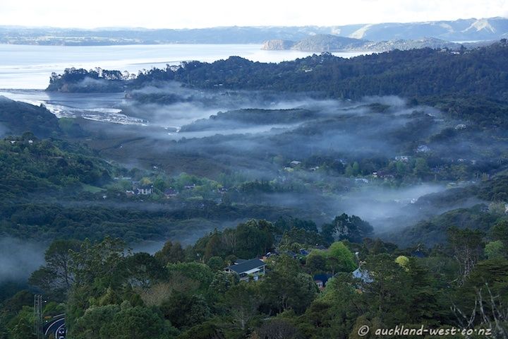 From Mount Atkinson, Titirangi