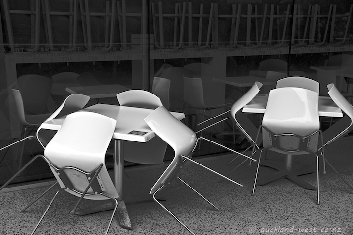 Furniture at the Art Gallery