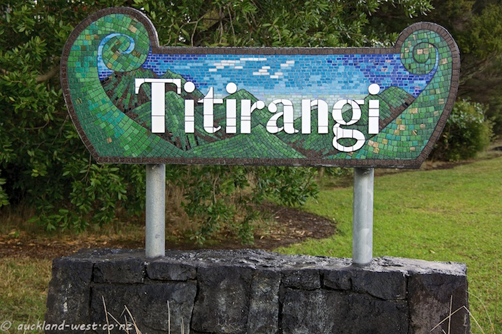 Location Signs: Titirangi (Kate Millington, 2014)