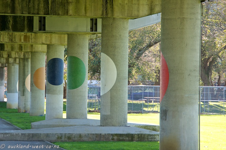 Dots under the Viaduct