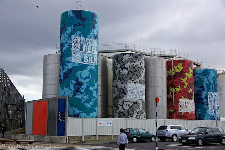 A Battery of Silos