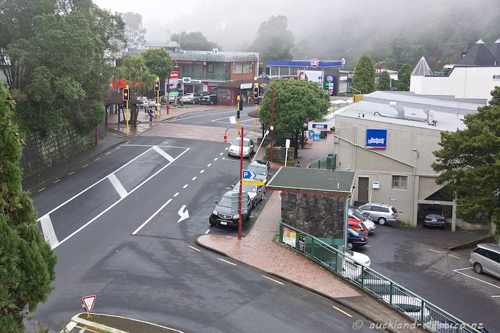Titirangi in the Mist