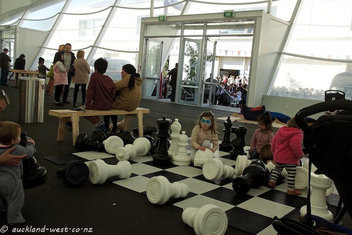 Chess Set, The Cloud, Queens Wharf
