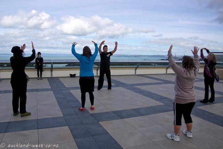 Chi Gung on the Rooftop