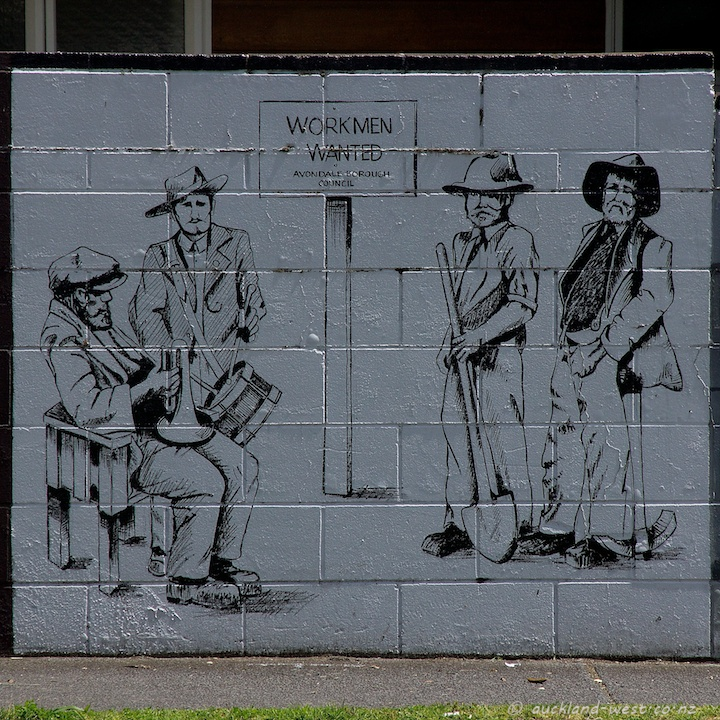 Workers Wanted (Mural by Louis Statham)