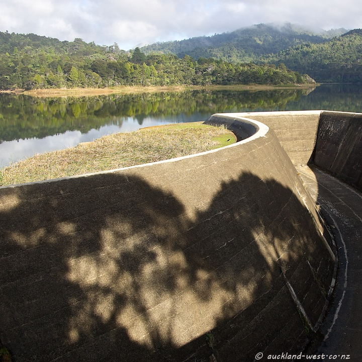 Spillway, Lower Nihotupu Reservoir