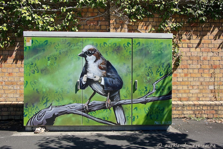 Bird with Arms (Paul Walsh)