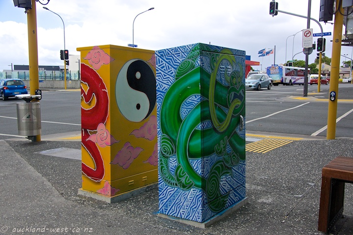 Painted Boxes: Yin and Yang