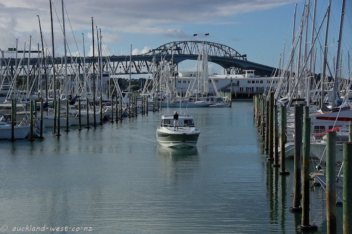 Westhaven and Harbour Bridge