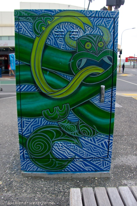 Painted Boxes: Taniwha
