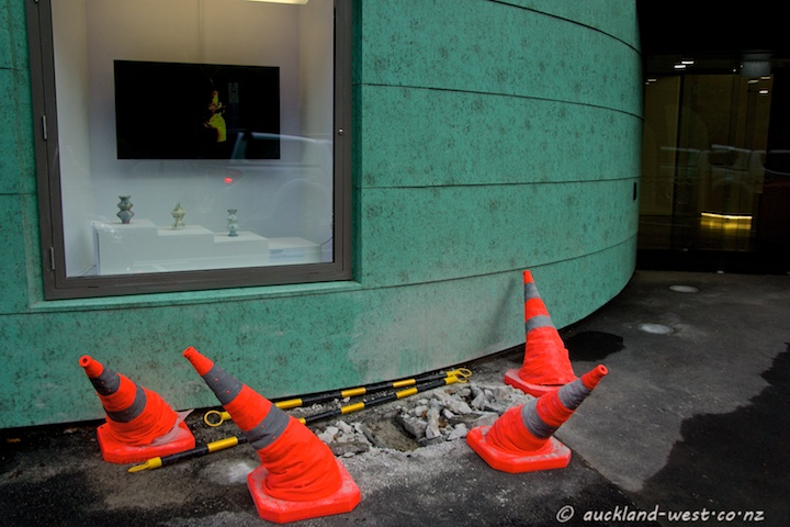 Traffic Cones at Te Uru