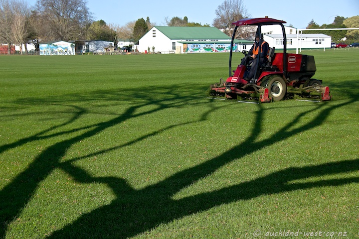 Red Mower, Long Shadows