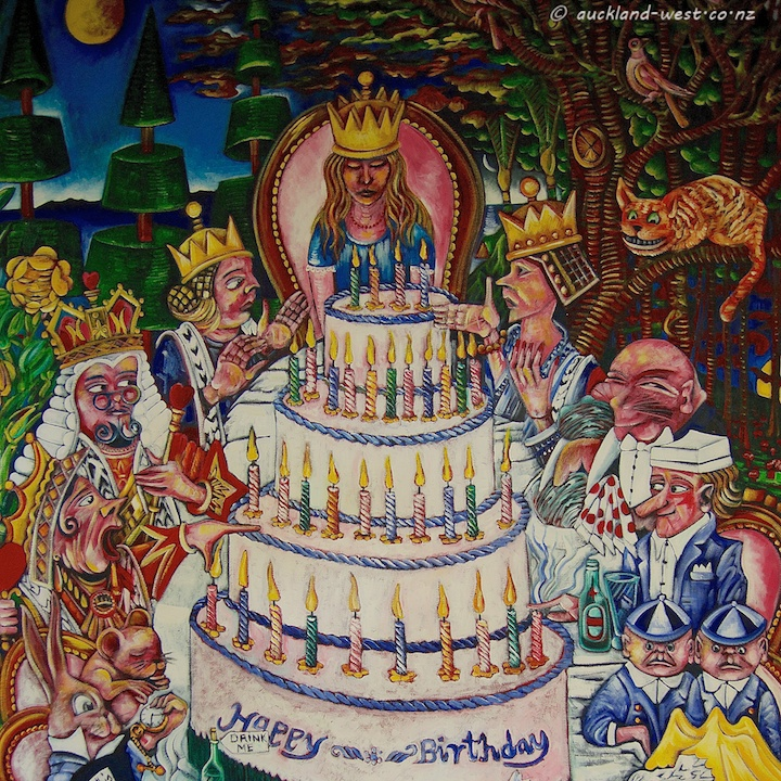 Alice's Birthday Party (Dean Buchanan), Detail