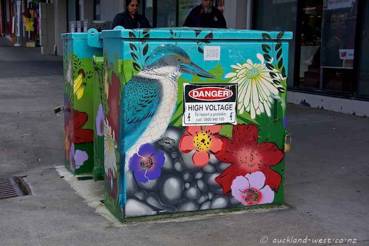 Painted Boxes: Flox at Catherine Place