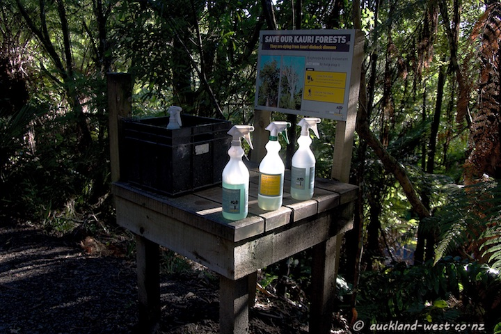 Cleaning Station at Arataki Visitor Centre